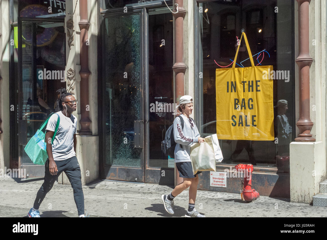 An Urban Outfitters Retail Store In The Soho Neighborhood Of New York Stock Photo Alamy