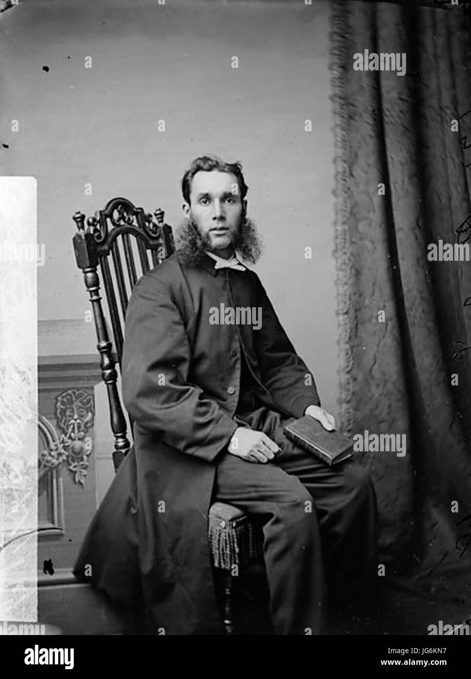 Revd John Wyndham Lewis 28Homo Ddu 1837-9529 NLW3362028 - Stock Image