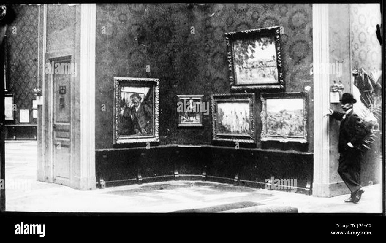 Salon d'Automne, 1904, Ambroise Vollard, Salle Cézanne - Stock Image