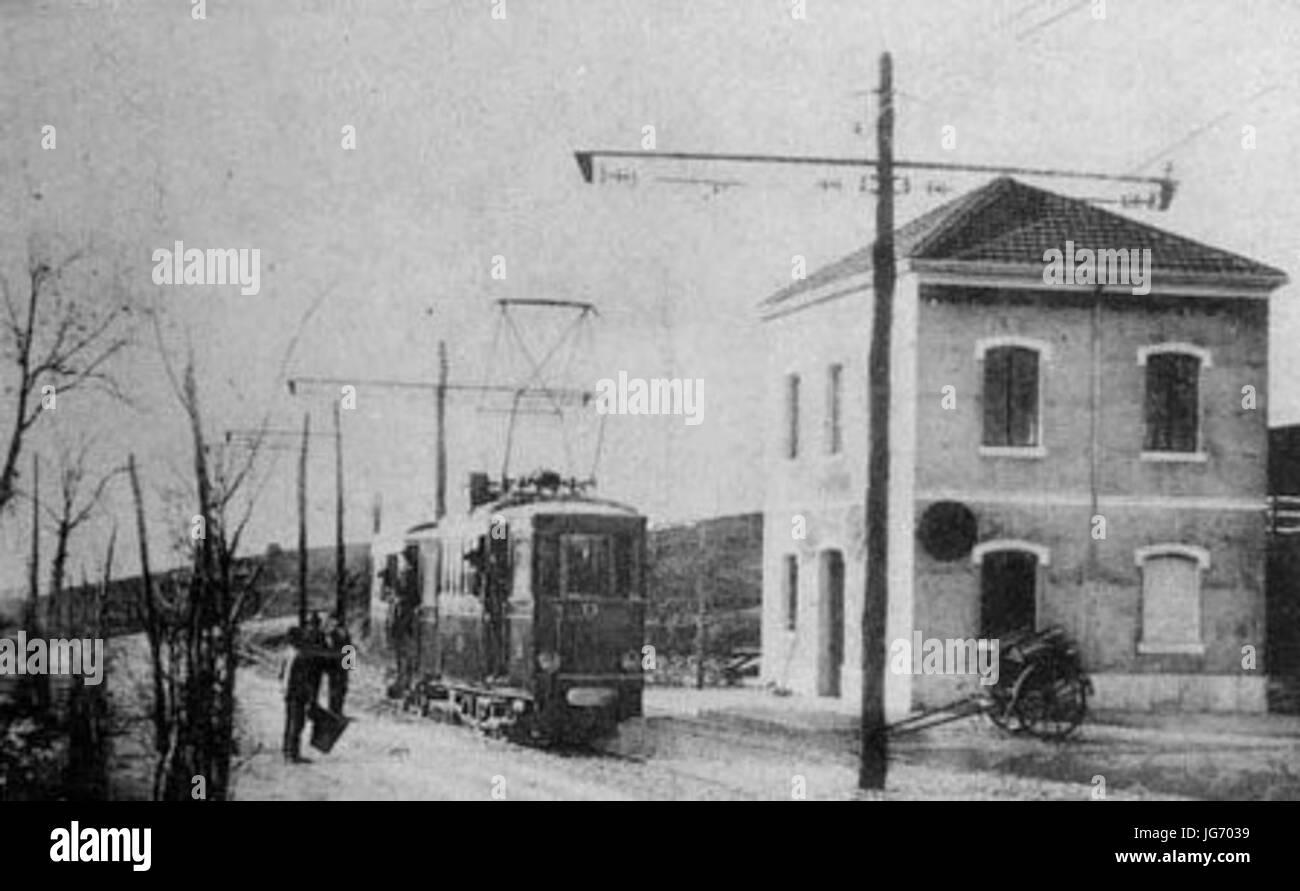 Sant Oreste - Tram - Stock Image