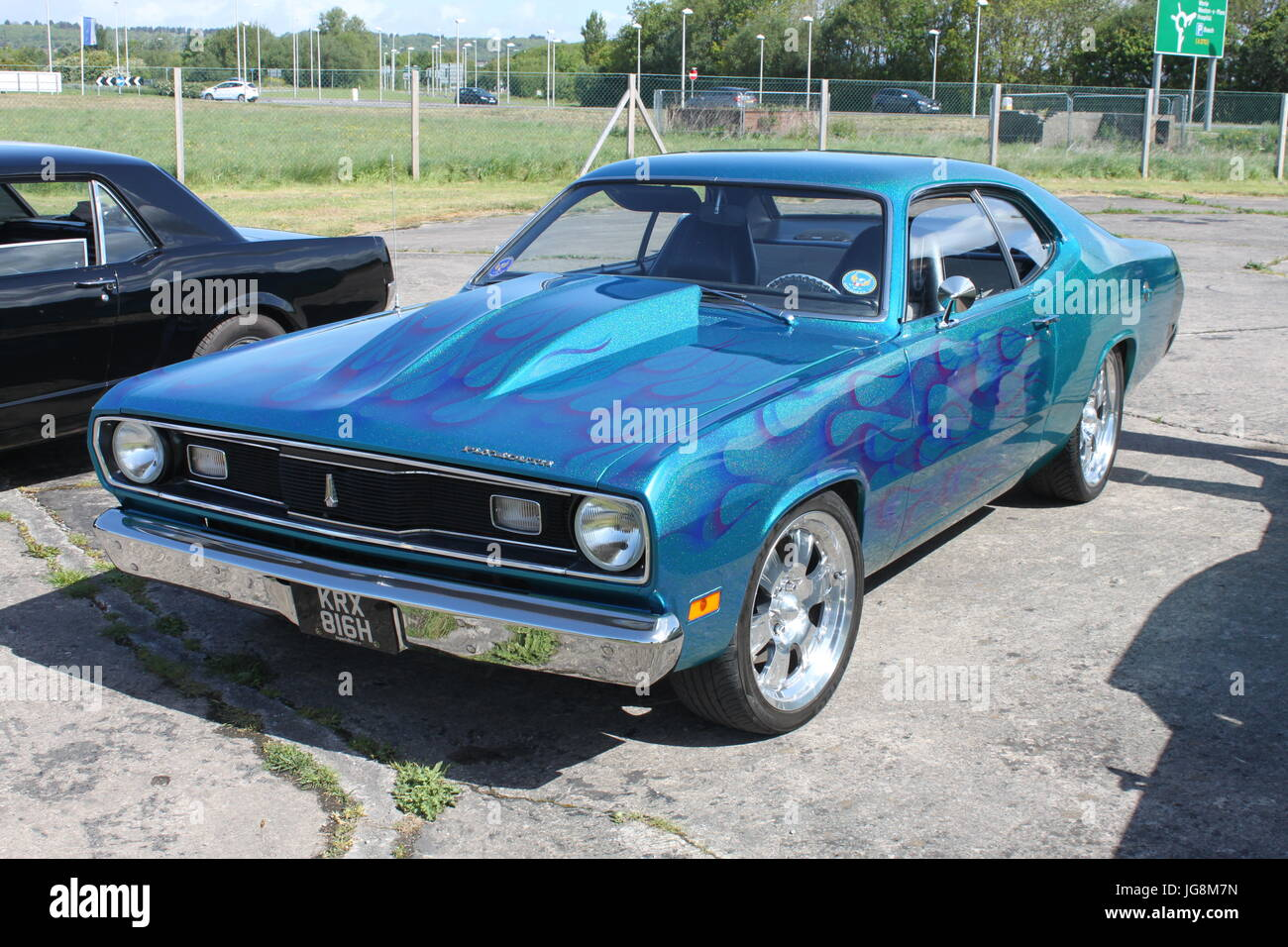 Plymouth Barracuda Stock Photos Images 1941 Pro Street 1969 Image
