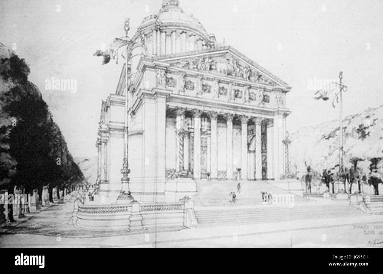 Mausoleo de los Hombres Ilustres 001 - Stock Image