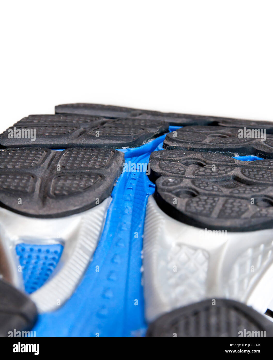 Running shoe: the out-sole - Stock Image