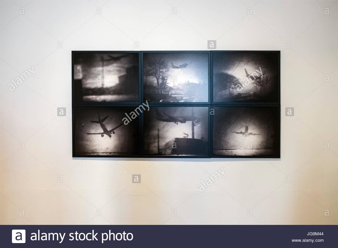 France, Provence, Arles, Les Rencontres de la photographie, Michael Ackerman - Stock Image