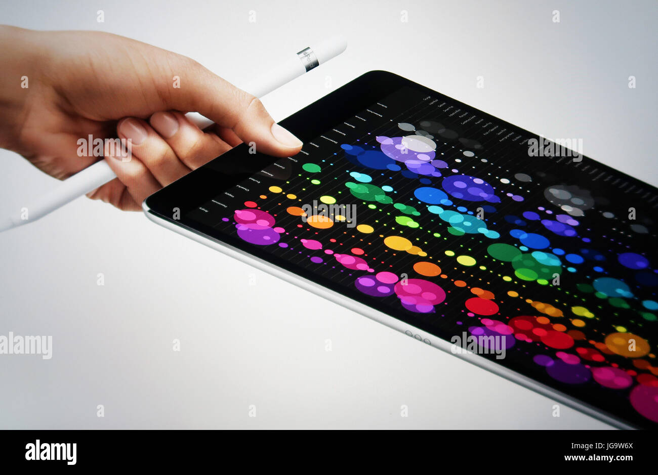 Apple iPad Pro 10.5' - Stock Image