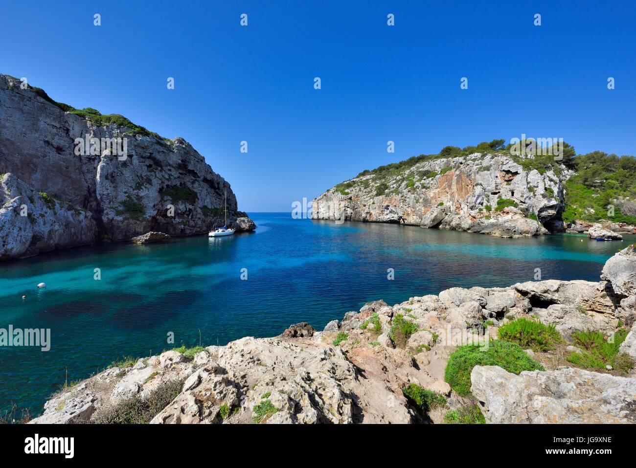 Cales Coves Menorca Spain - Stock Image
