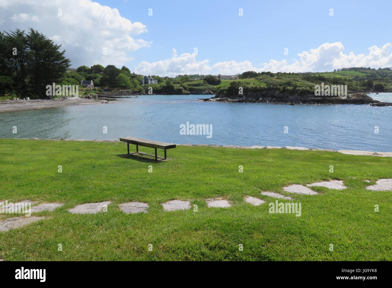 Schull, West Cork, Ireland, Eire - Stock Image