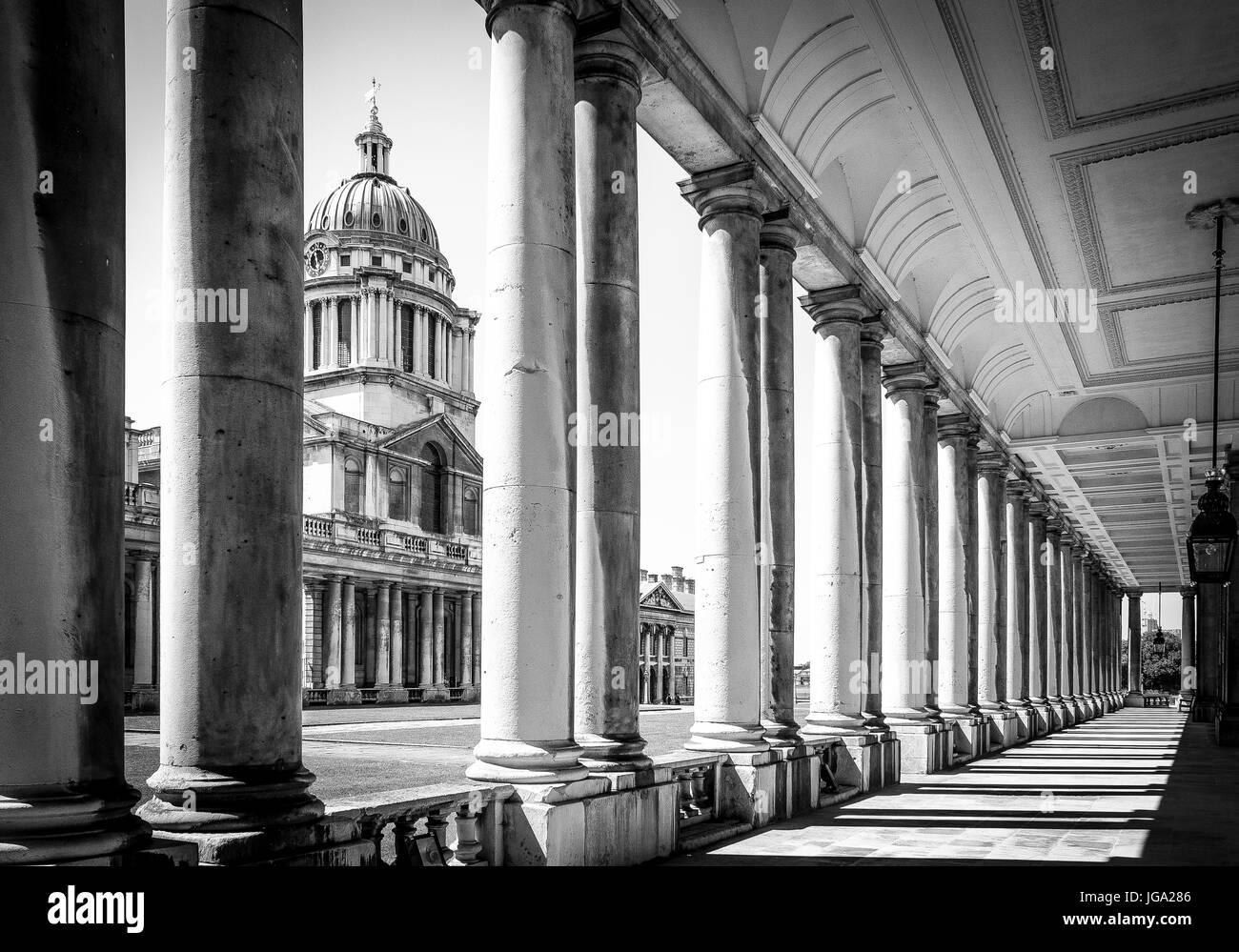Greenwich Naval College - Stock Image