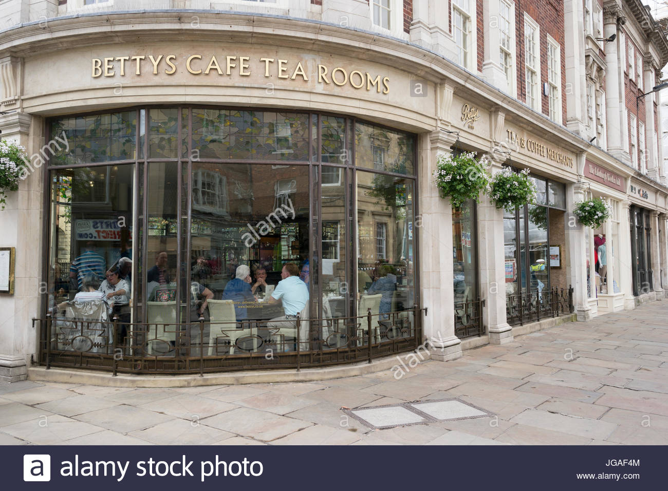 Bettys Café and Tearoom in York, England, UK - Stock Image