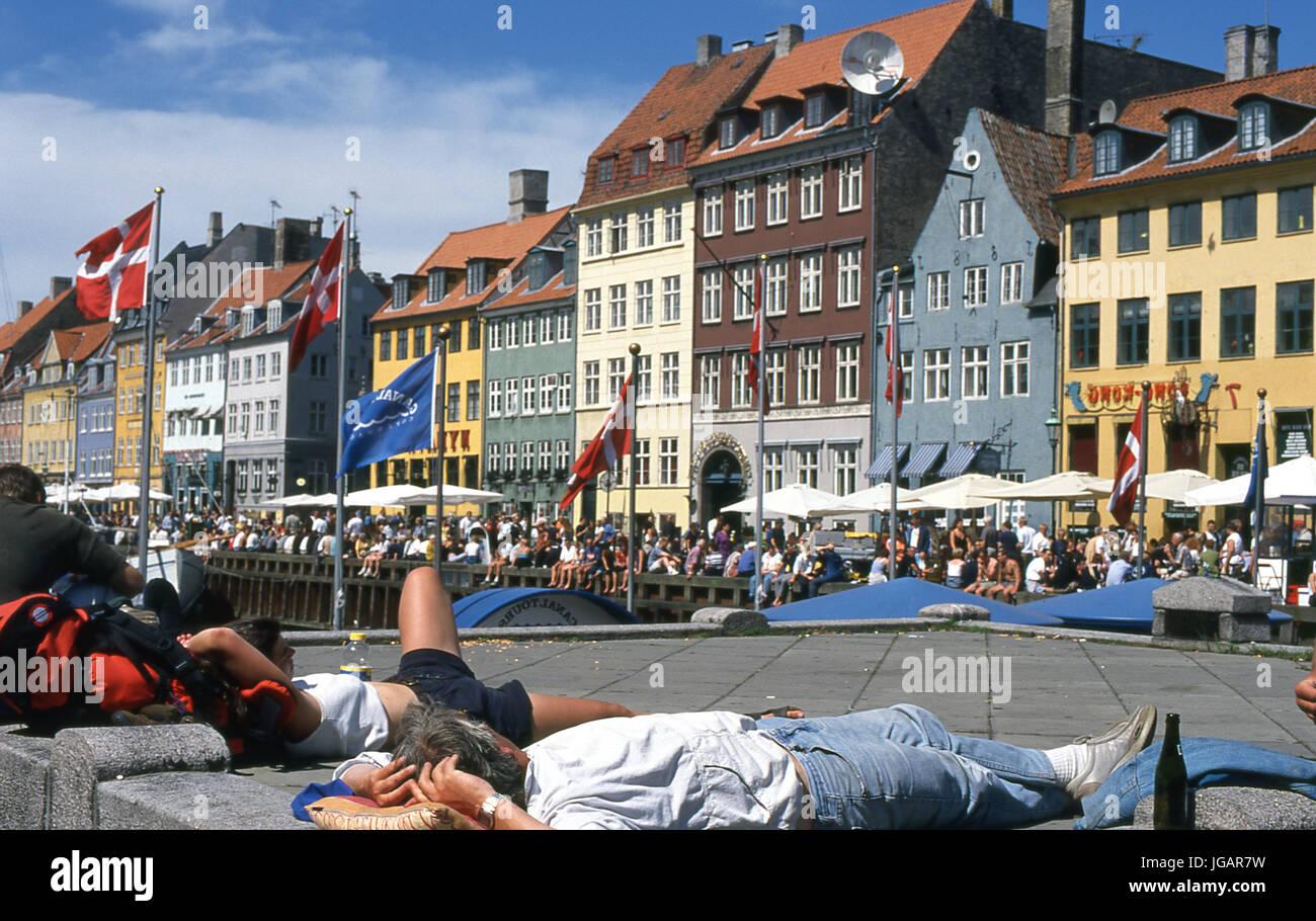Copenhaga, Dinamarca, 1999 - Stock Image