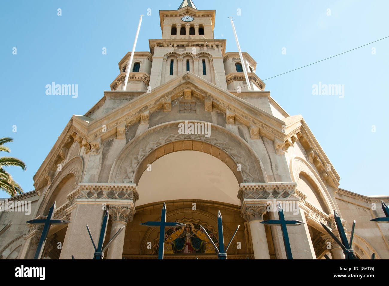 Our Lady of Agony Church - Vina Del Mar - Chile - Stock Image
