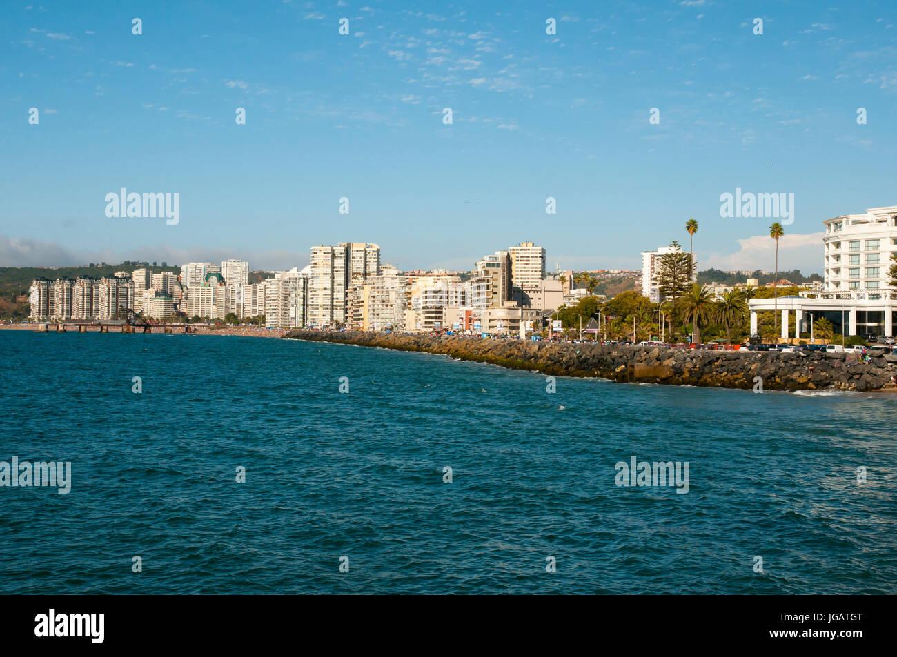 Vina Del Mar - Chile - Stock Image