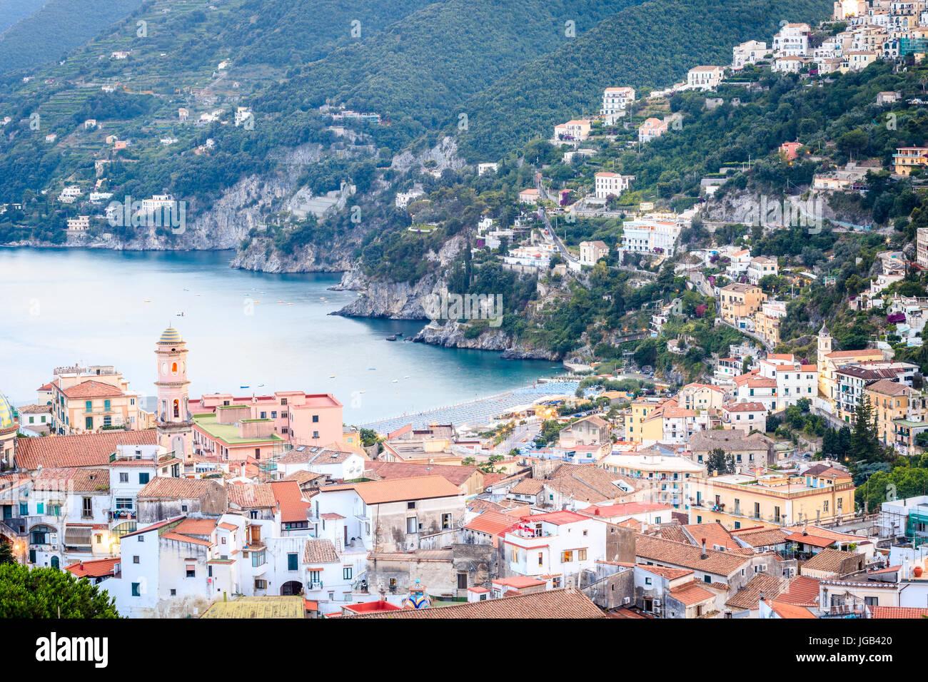 Vietri Sul Mare, Amalfi Coast, Salerno, Campania, Italy Stock Photo