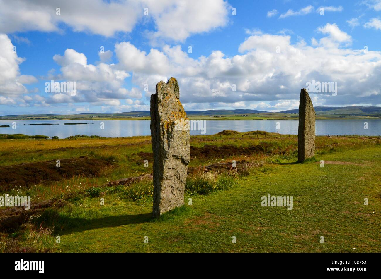 Ring of Brodgar Stock Photo