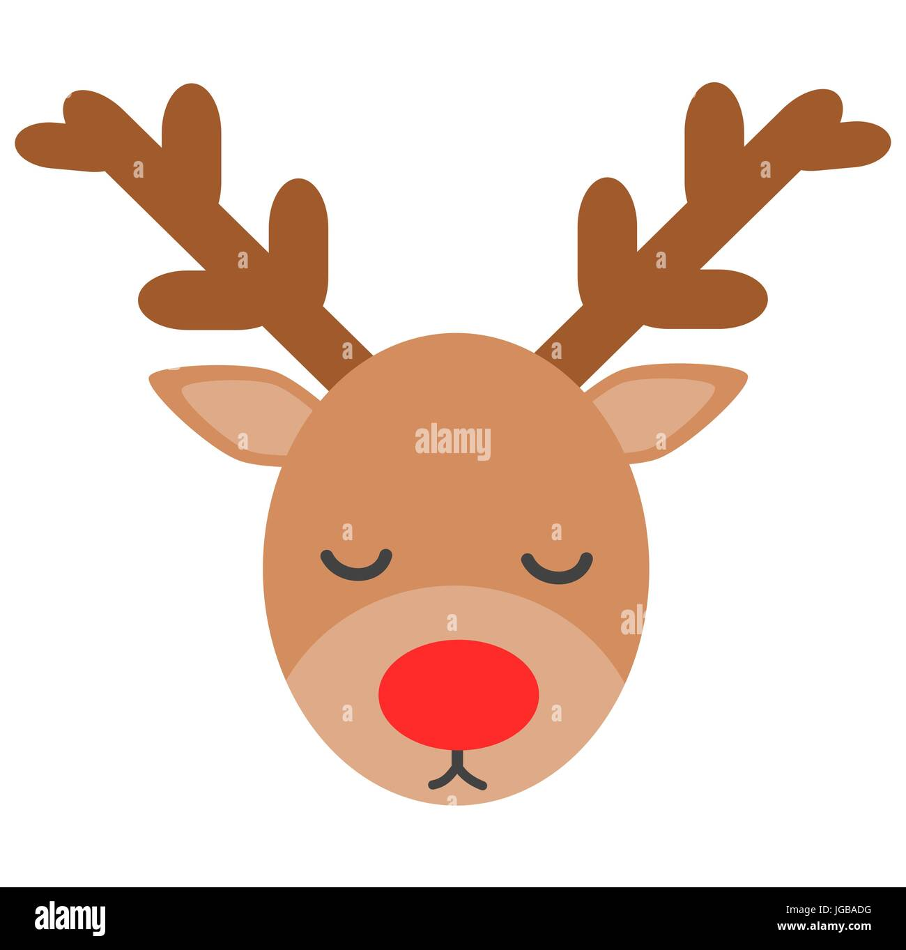 Cartoon Reindeer High Resolution Stock Photography And Images Alamy