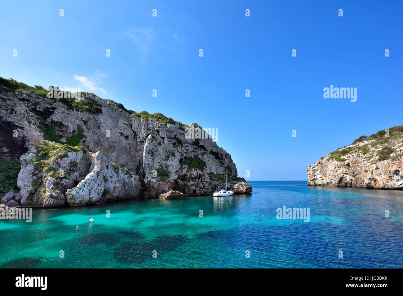 Cales coves Stock Photo