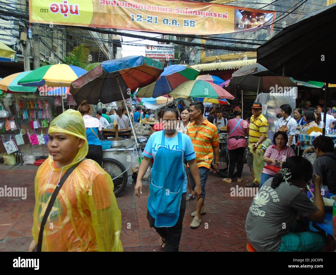 Chinatown Bangkok Thailand South East Asia - Stock Image