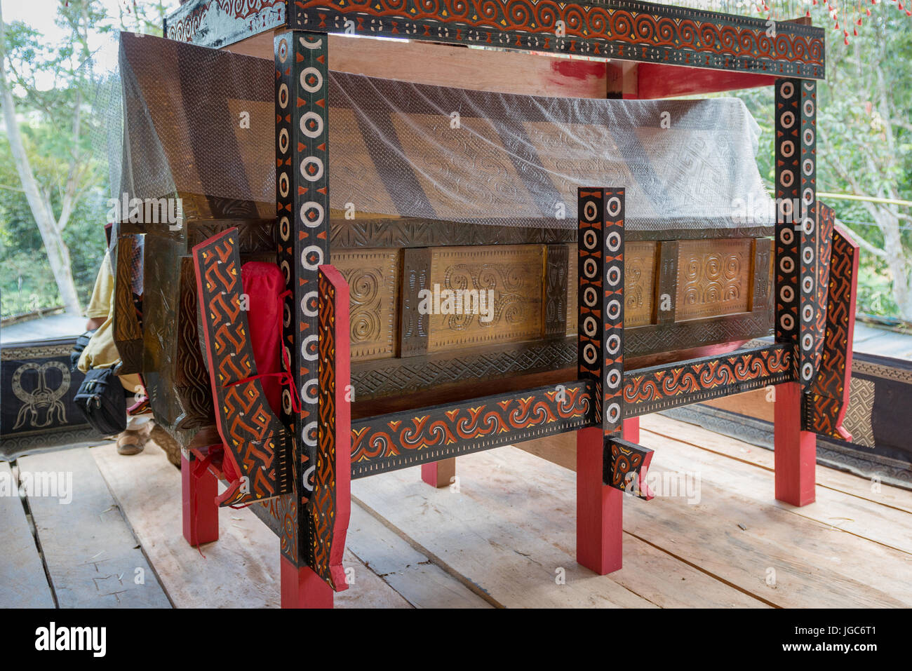 Ceremonial burial at tana toraja, Sulawesi Indonesia - Stock Image