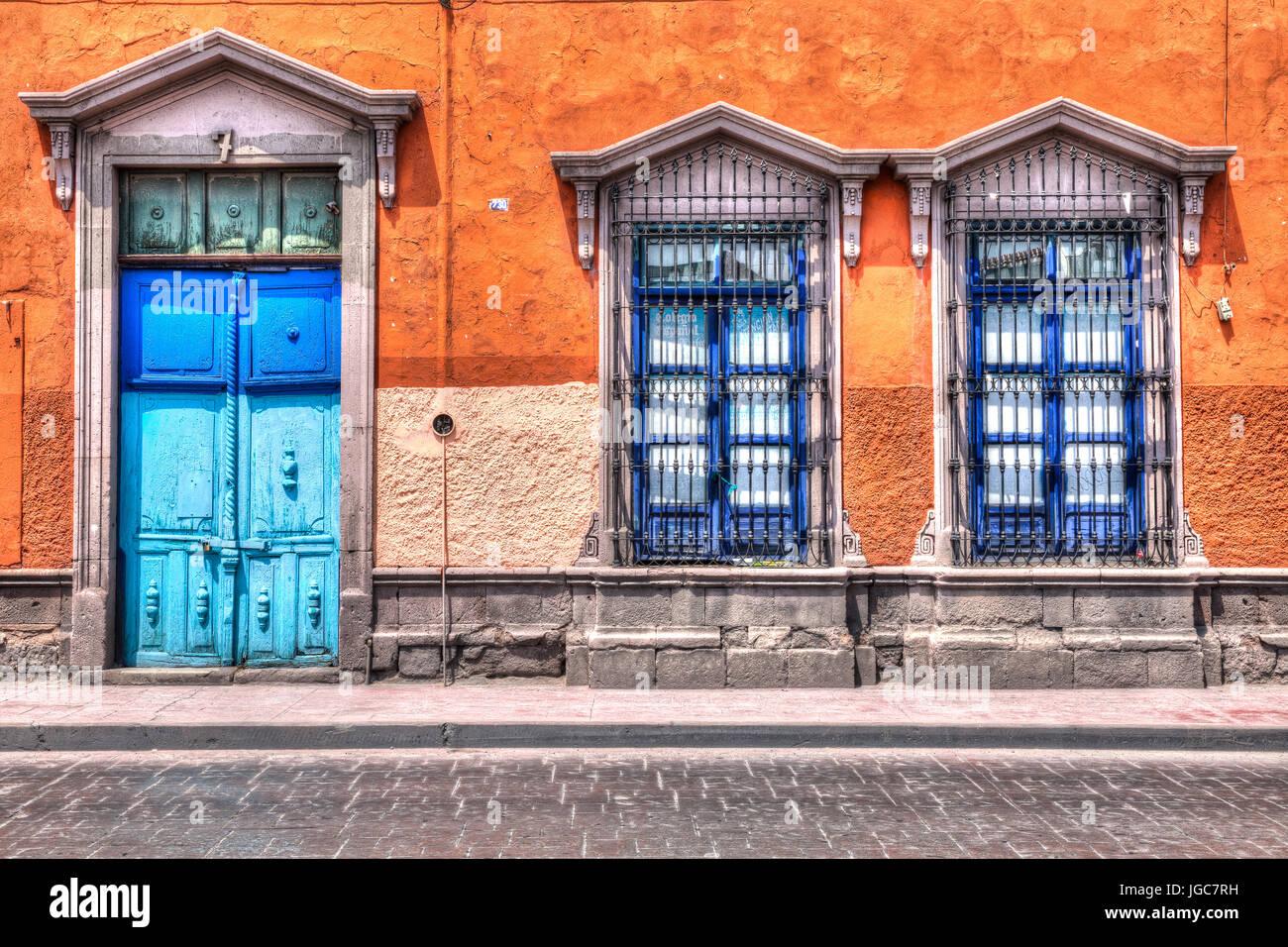 Doors of San Luis Potosi - Stock Image