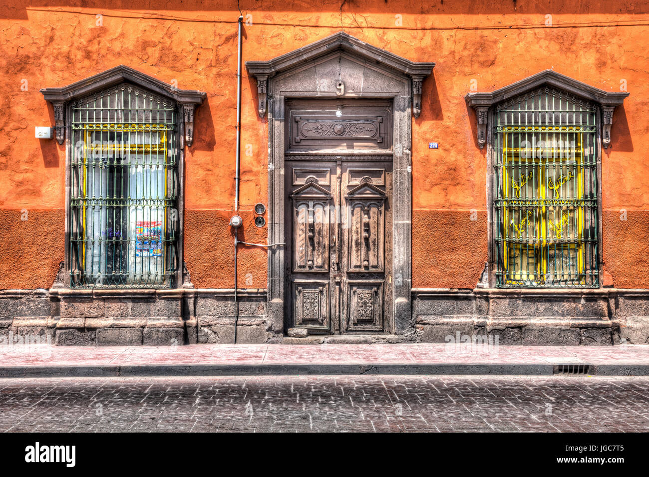 Doors of San Luis Potosi - Stock Image