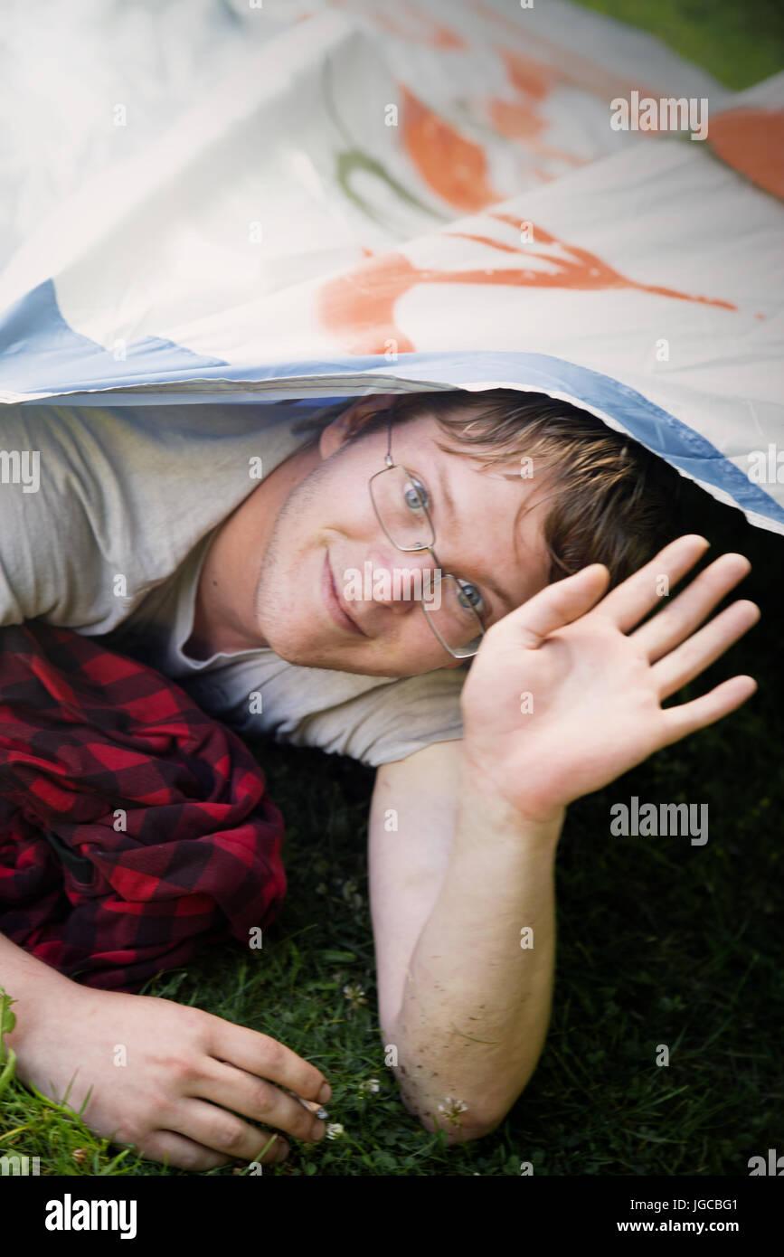 Sleep-In - Stock Image