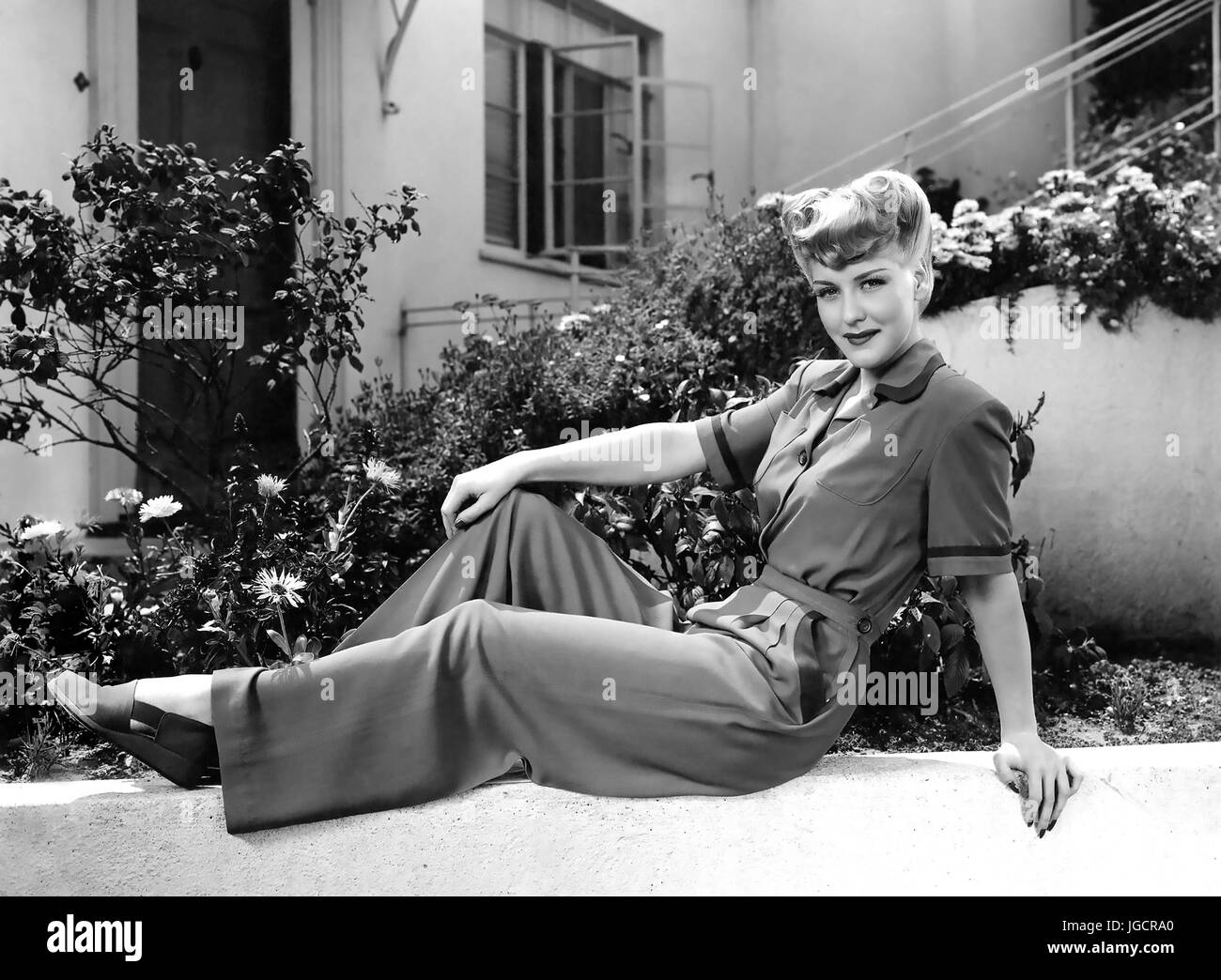 ANN SAVAGE (1921-2008) US film and TV actress about 1938 - Stock Image
