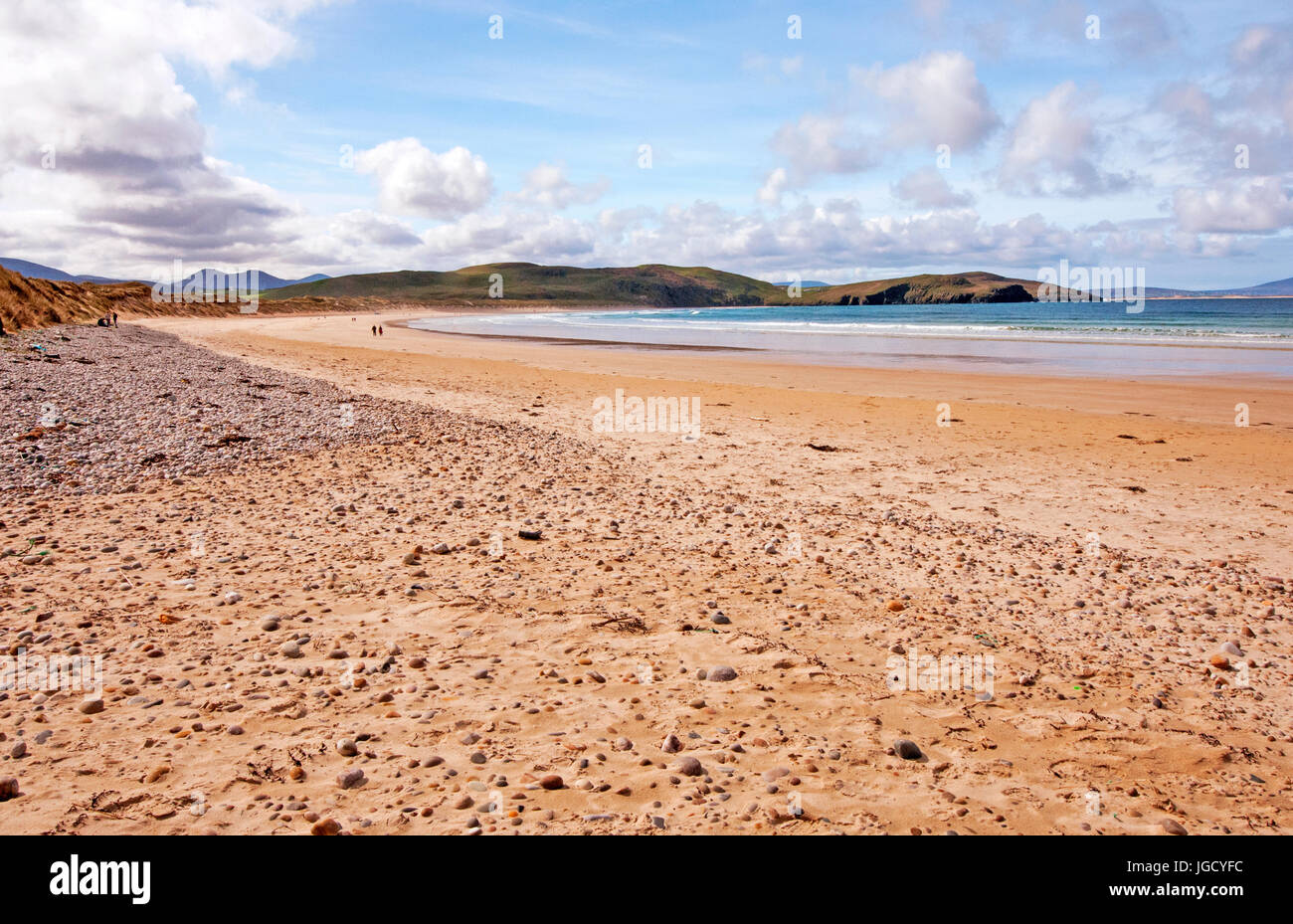 Tramore Beach, Dunfanaghy, County Donegal, Ireland - Stock Image
