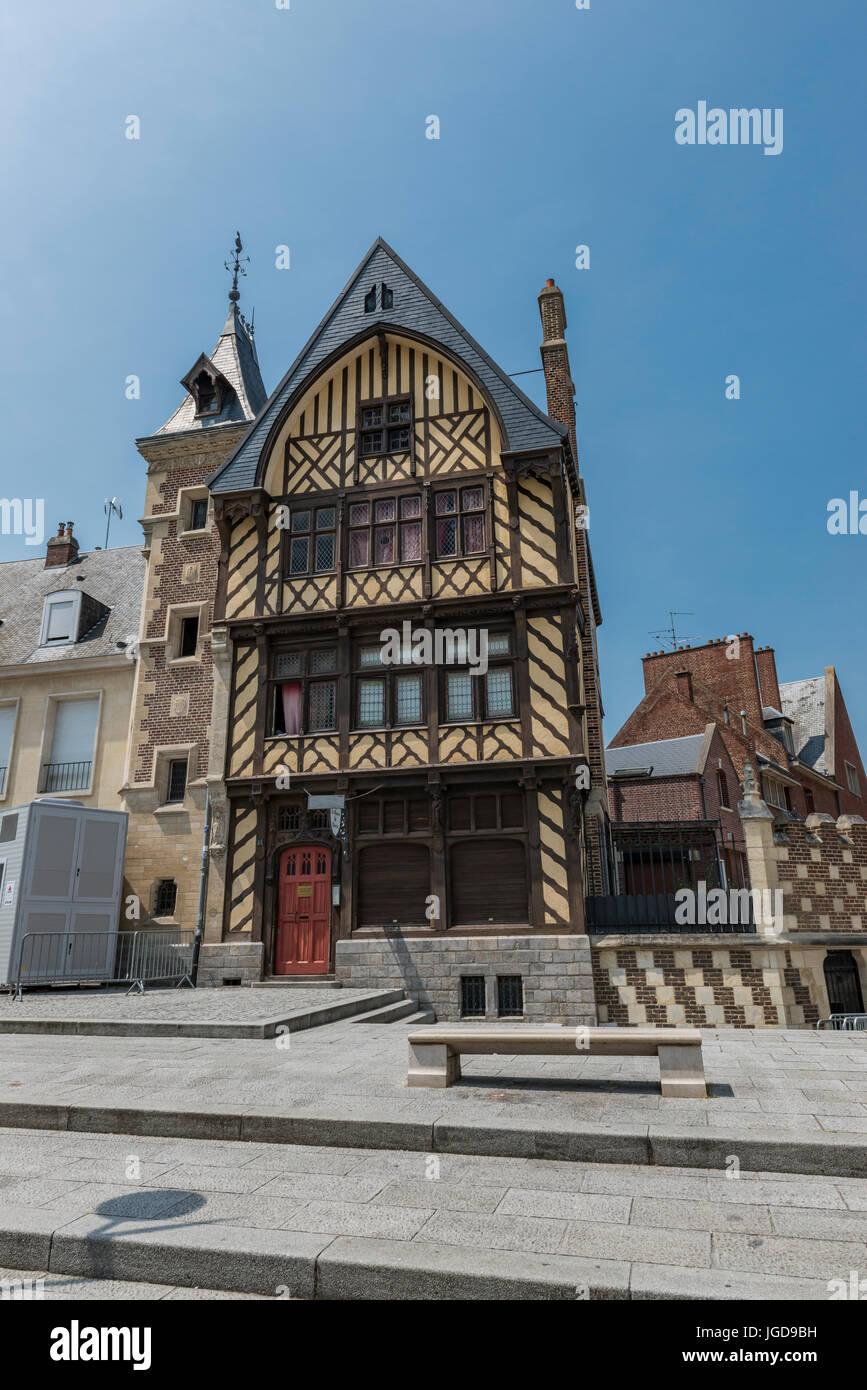 Pilgrims House, Amiens - Stock Image