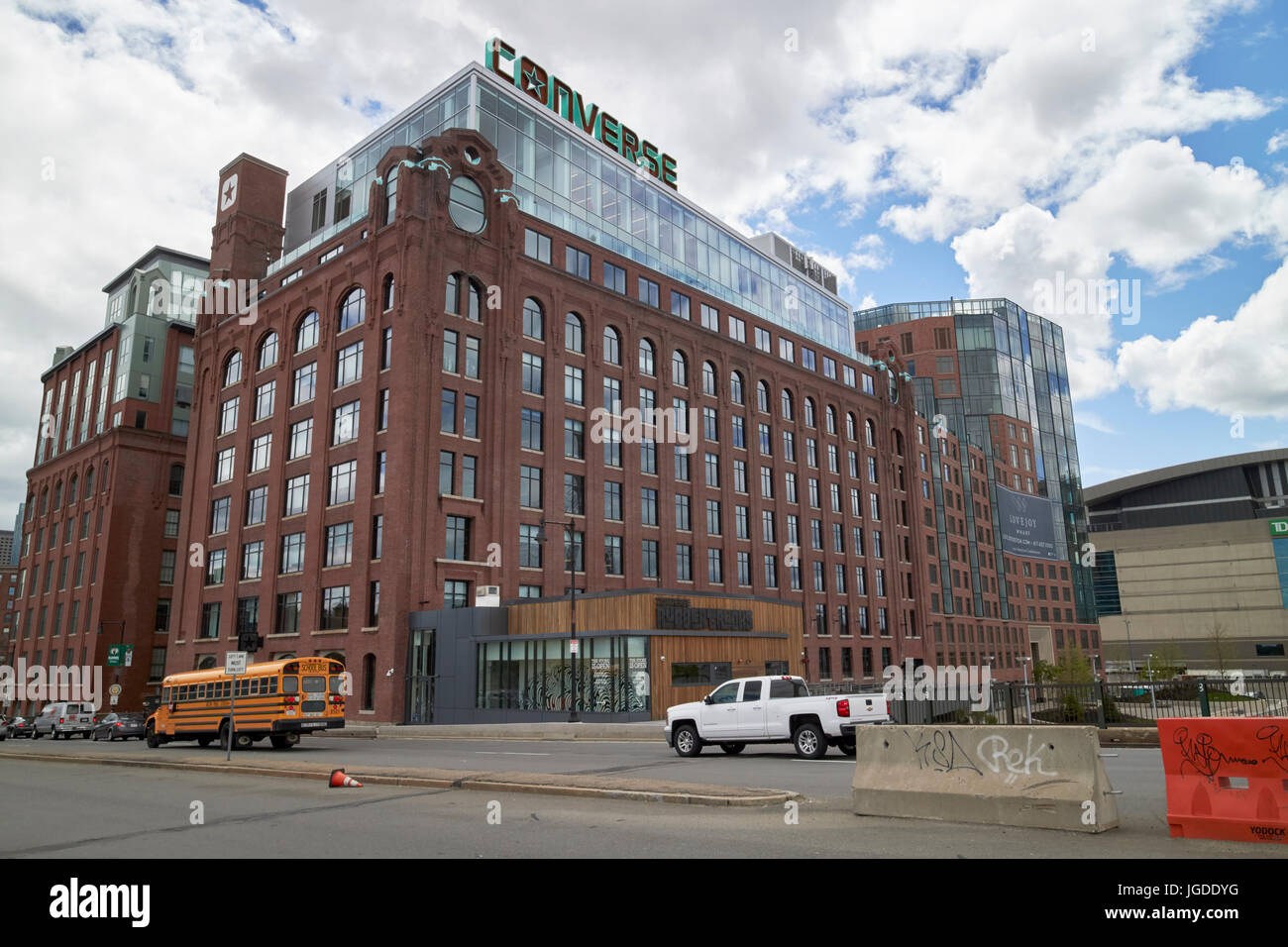 Lovejoy Wharf former submarine signal building converse world headquarters  building Boston USA 271ede6ad