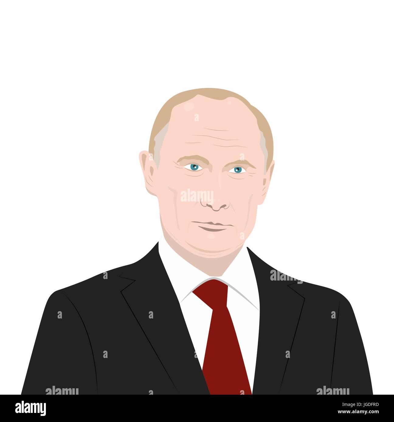 Putin - Stock Image