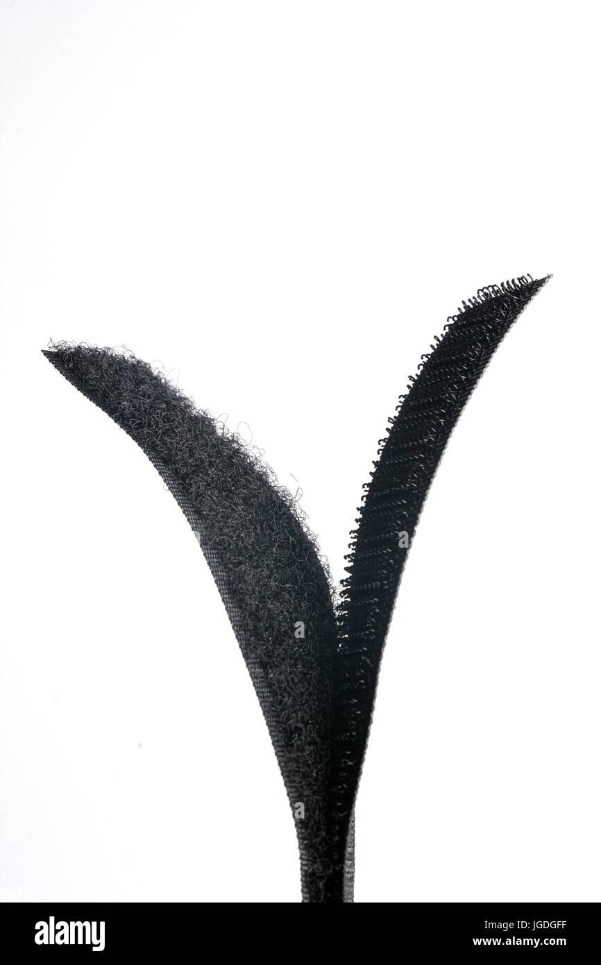 detail of velcro - Stock Image