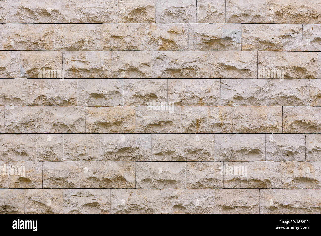 Texture of stone wall - Stock Image