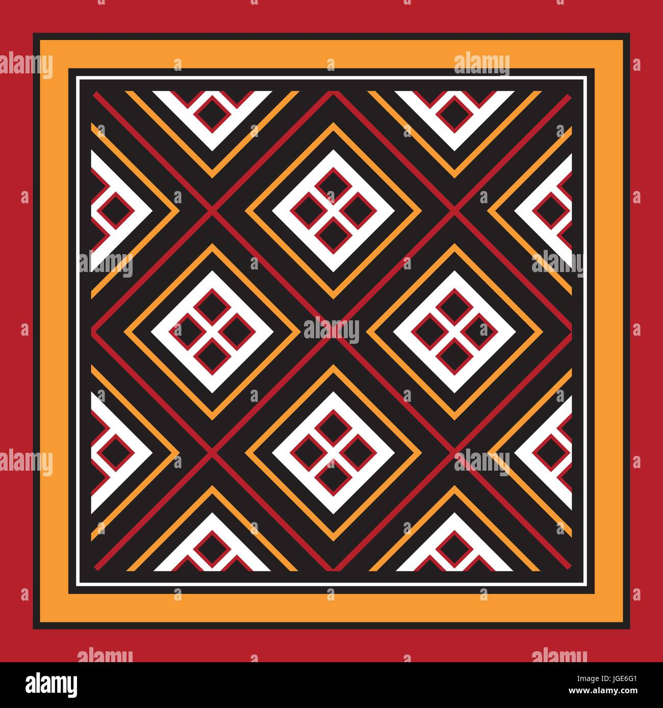 Traditional Carving Art From Indonesia - Stock Vector