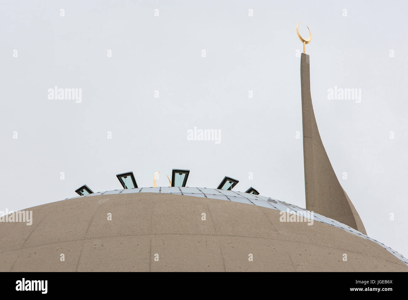 DITIB Mosque in Cologne - Stock Image