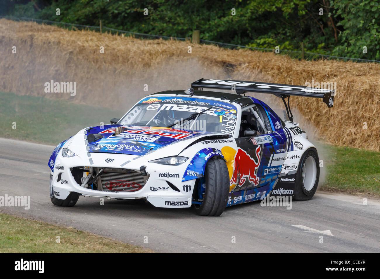 2016 Radbul Mazda Mx 5 Drift Car With Driver Mad Mike Whiddett