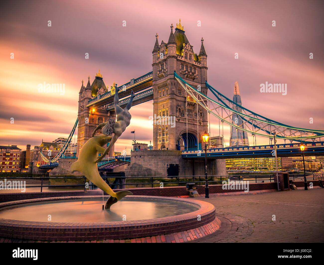 Tower bridge - Stock Image