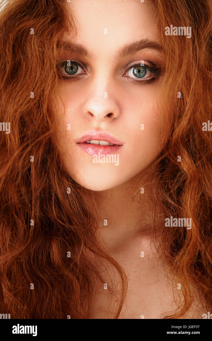 Porter Is A Beautiful Red Haired Girl With Beautiful Natural Stock