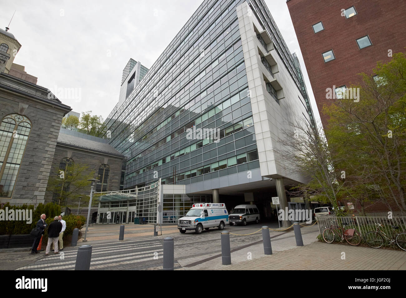 Yawkey center for outpatient care massachusetts general hospital Boston USA - Stock Image