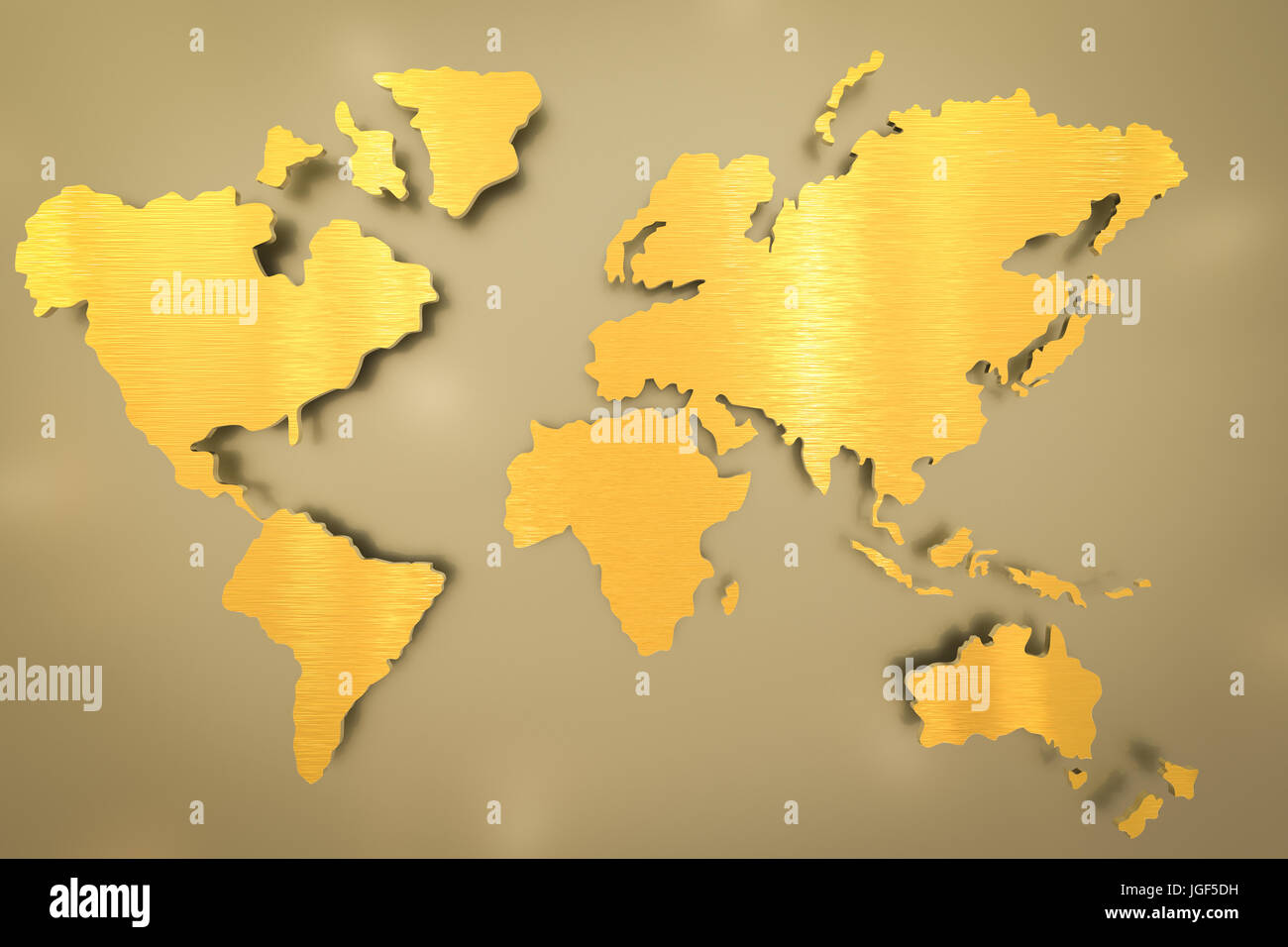 3d rendering golden world map on gold background stock photo 3d rendering golden world map on gold background gumiabroncs Images