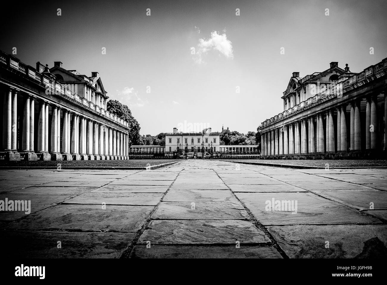 Greenwich College - Stock Image