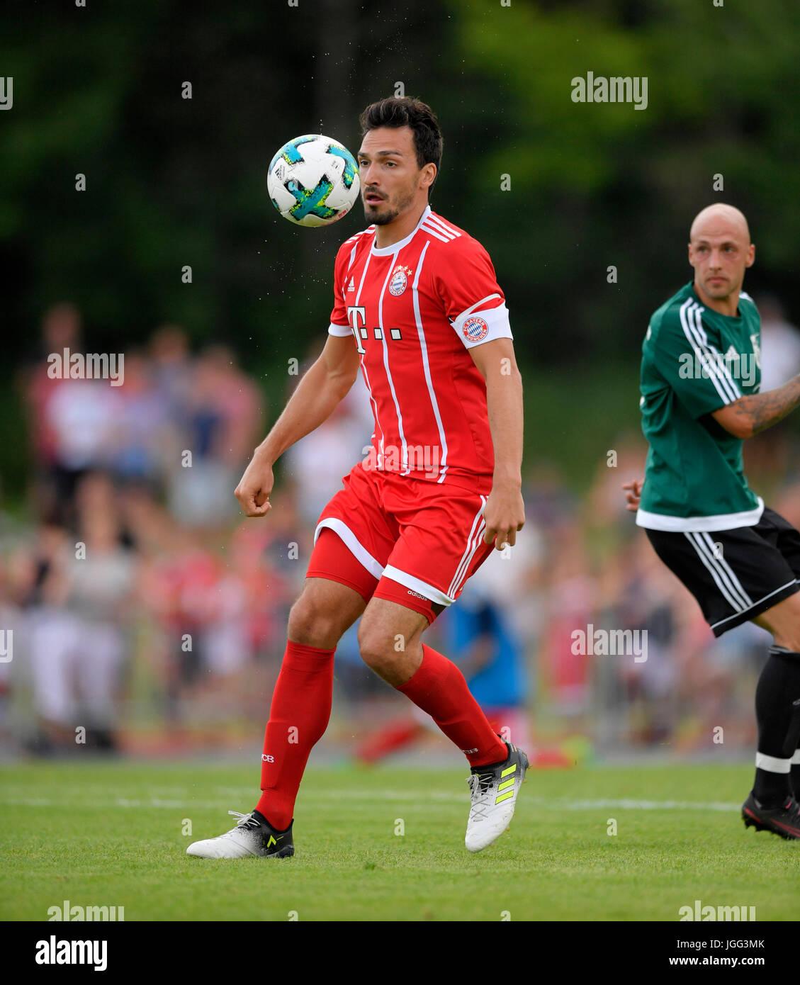 06.07.2017, Fussball 1.Bundesliga 2017/2018, Saisonvorbereitung, BCF Wolfratshausen - FC Bayern München, im Stadion Stock Photo