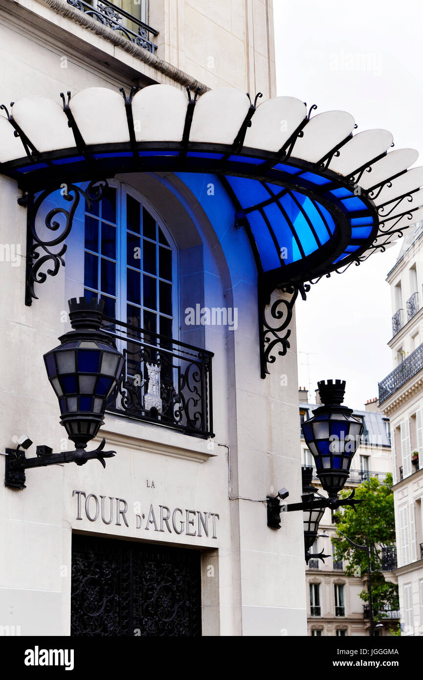La Tour d'Argent, Paris, France - Stock Image