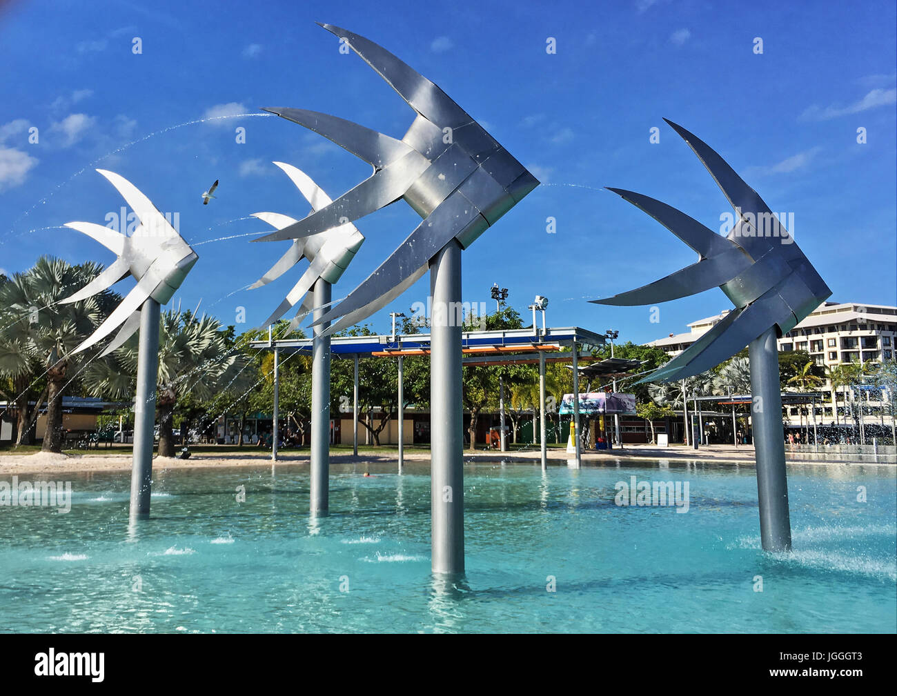 Cairns Esplanade Swimming Lagoon is like a public swimming pool but ...