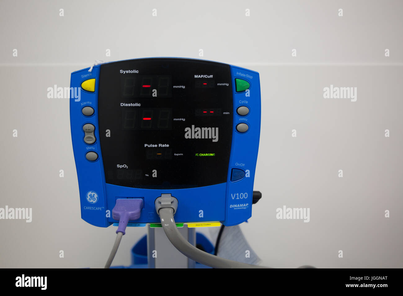 Blood pressure monitor. Stock Photo