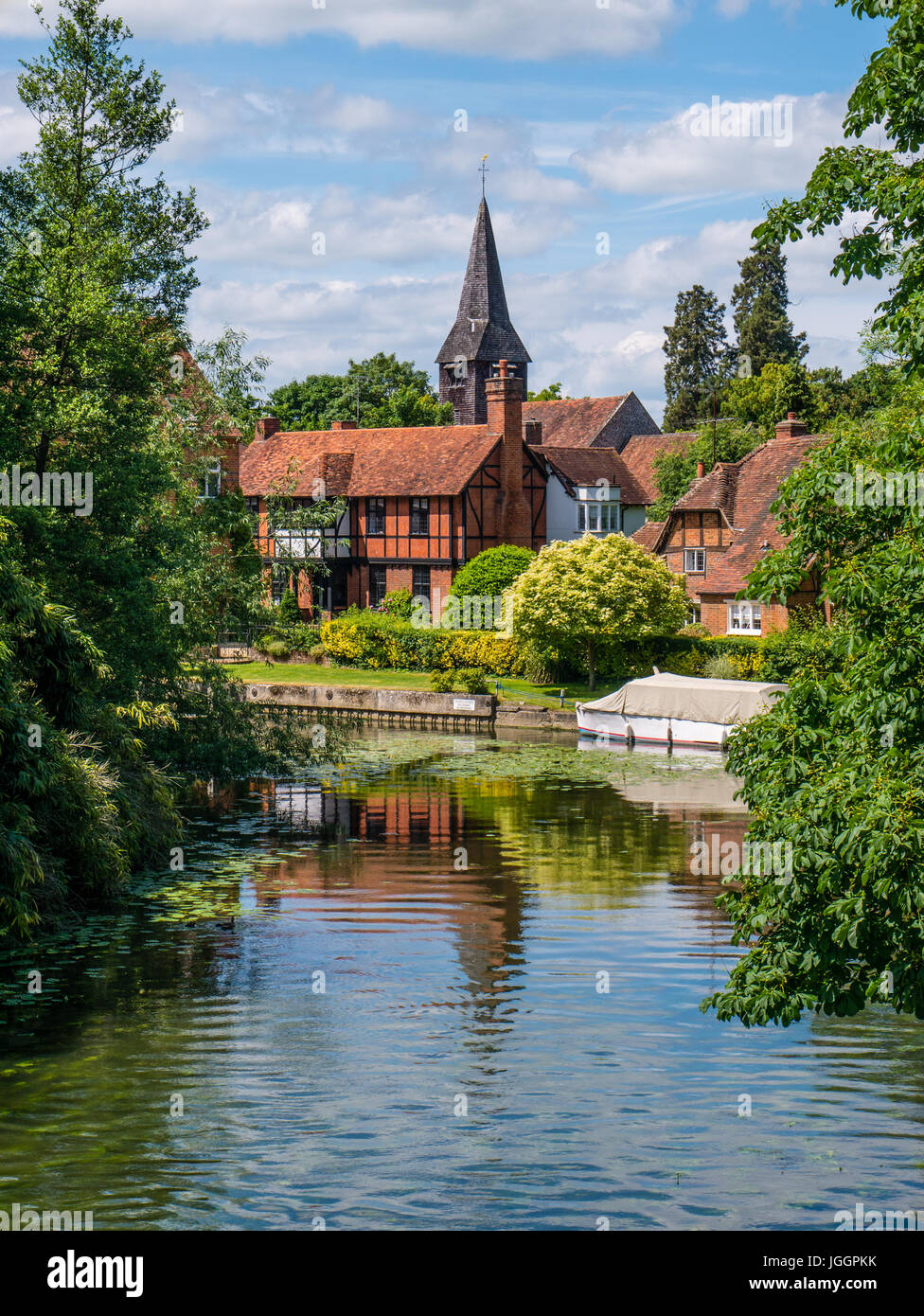 Whitchurch-on-Thames, River Thames, Oxfordshire, England - Stock Image
