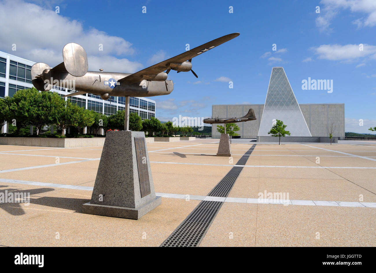 Center for Character & Leadership Development, United States Air Force Academy, Colorado Springs, Colorado, - Stock Image