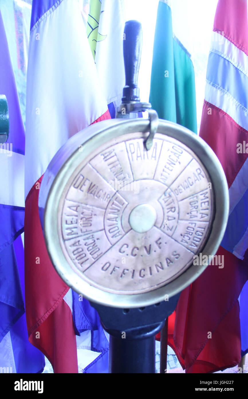 Navigation instrument, 2016, Rio de Janeiro, Brazil. - Stock Image