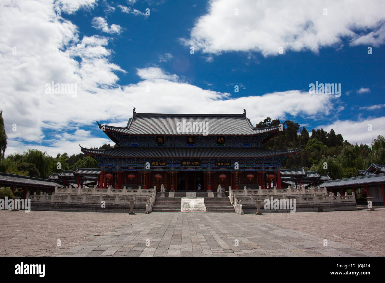 Lijiang, Yunnan, Kunming, China. Heritage village, living and landscapes - Stock Image