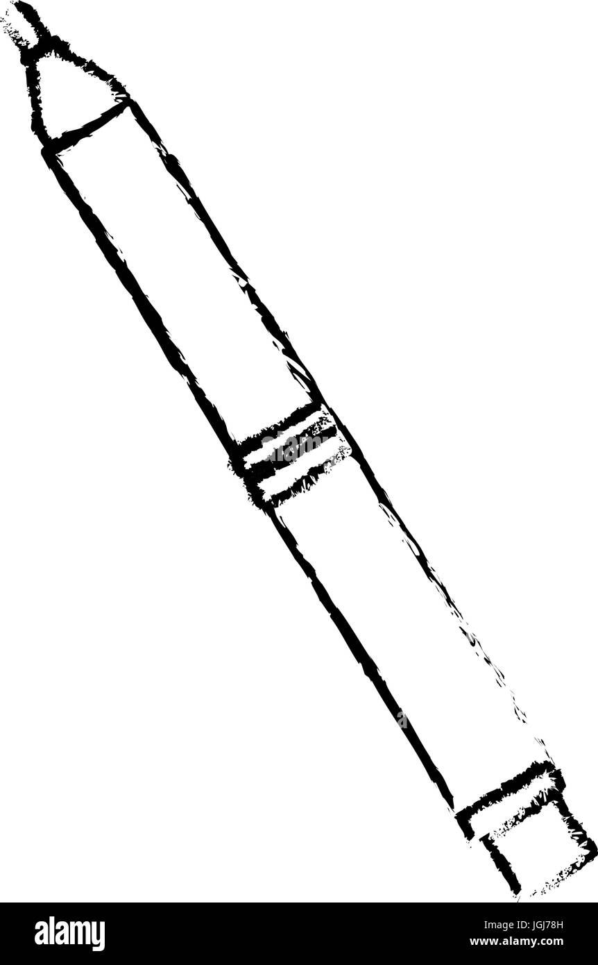 pencil idea creativity supply design tool - Stock Vector