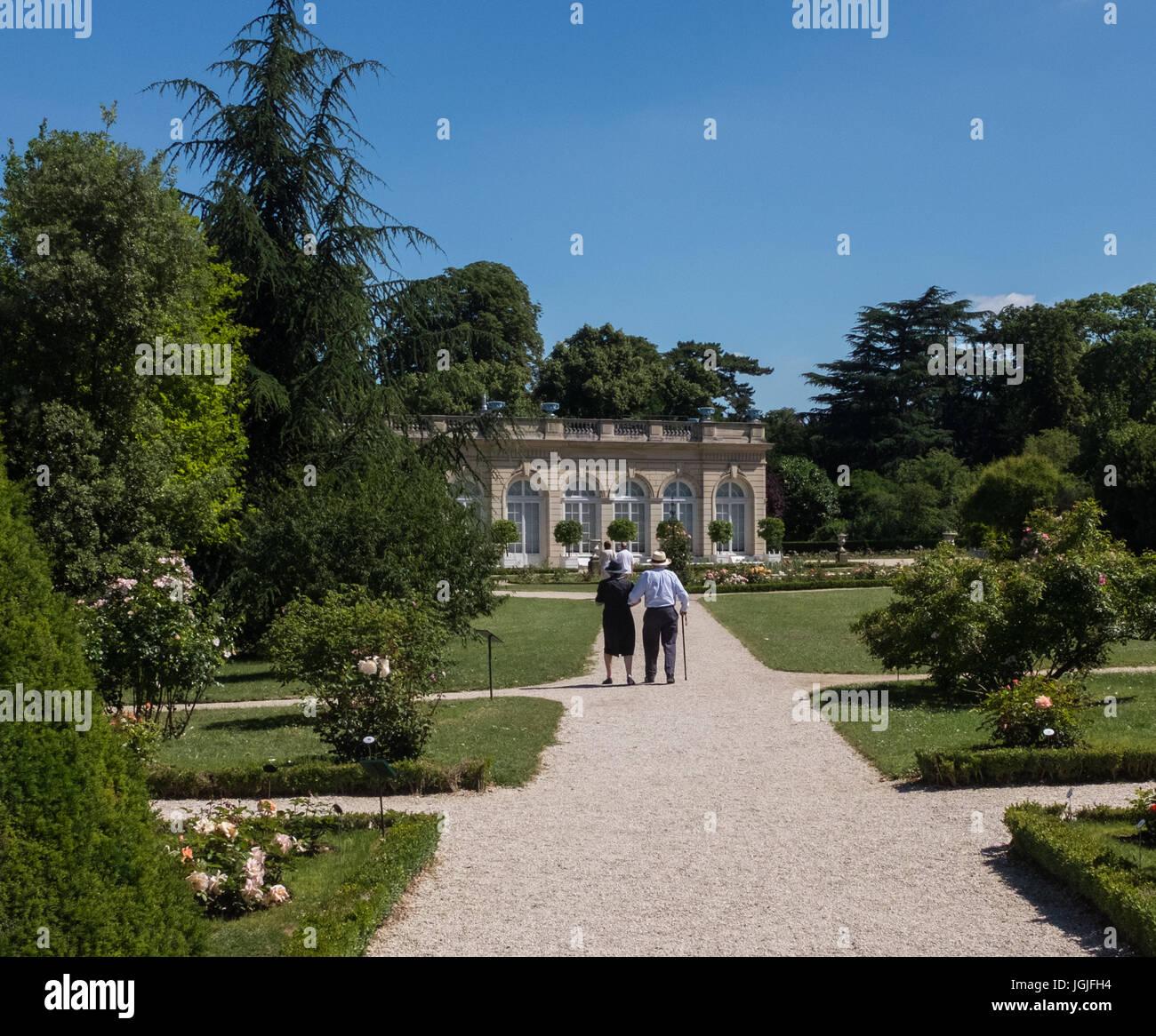 Parc de Bagatelle, Paris, France Stock Photo